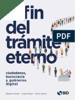 El Fin Del Tramite Eterno Ciudadanos Burocracia y Gobierno Digital