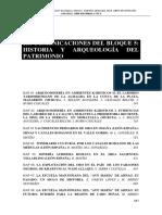 5. Iie Indice Historia y Arqueología Del Patrimonio