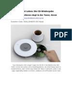 Gadget Leben Die CD-Wiedergabe Implementieren Singt in Der Tasse, Deren -De