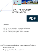 6 Tourism Destination