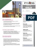OSLO - Farol Ornamental
