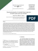 Functional Properties of Extruded Foam Composites 0