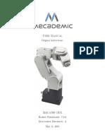 Meca500 R3 User Manual