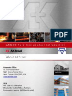 AK Steel - AK Pure Iron - Introduction