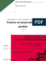 Francia en Busca Del Mayo Perdido
