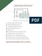 Diagram A  - Sensor de pressão do óleo e temperatura do motor  caminhões Volkswagen
