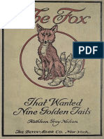 The Fox That Wanted Nine Golden Tails by Kathleen Gray Nelson