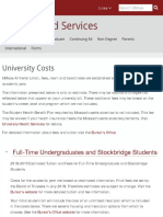 University Costs | Financial Aid Services | UMass Amherst
