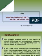 3) Manejo Administrativo y Gerencial de Un CE