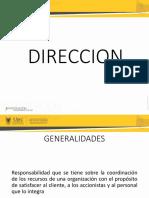 Administracion Direccion