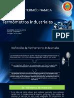 Termómetros Industriales