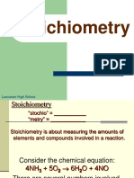 Day 2 - Introduction to Stoichiometry Guided Notes Assignment