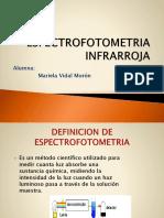 ESPECTROFOTOMETRIA INFRAROJO