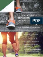 Recuperarea Functionala Post Tenorafie Achileana