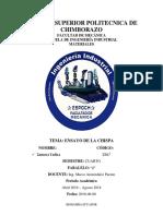 Consulta_ensayo de Chispa