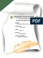 Juan Velez - Proyecto