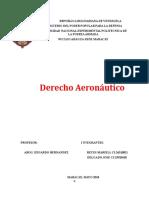 Trabajo de Derecho Aeronautico