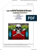 La Historia Completa de Monsanto