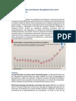 Medidas Económicas Del Gobierno de Lenin Moreno