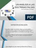 Un Análisis a Las Doctrinas Falsas