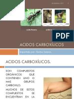 Acidos Carboxílico
