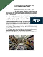 Principales Industria en El Ruglo Alimentario Más Contaminante en Sudamenrica y Perú