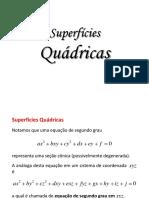 Superfícies Quádricas