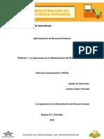 Relfexion 1 La importancia de la Administración del Recurso Humano.docx