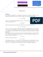 Economics Assignment Problems with Solutions