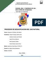 Tema 5 Desacidificacion Del Gas Natural
