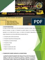 TRANSPORTE-SUBTERRÁNEO