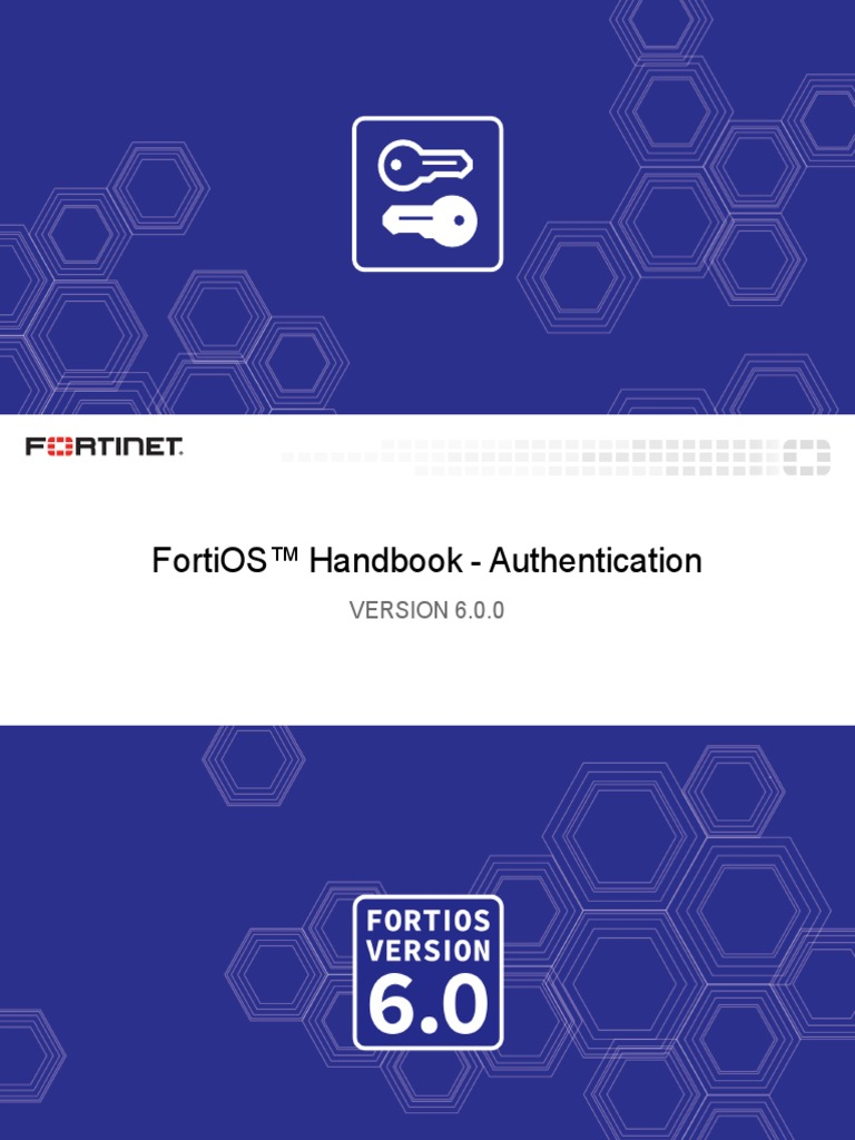 Fortigate Authentication 60 | Public Key Cryptography