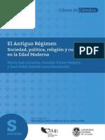 Carzolio y Pereyra, El Antiguo Regimen Capitulo 1 y 2