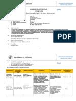 Formato Oficial II Unidad de Aprendizaje 2017 Para 5to Secundaria