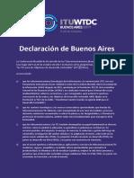ITU_WTDC_Declaración de Buenos Aires