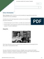 Érico Veríssimo_ Biografia, Obras e Curiosidades - Toda Matéria