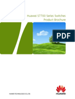 Huawei S7700 Series Switches Product Brochure