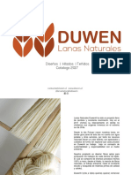 Catalogo Duwen Artesana Colores Sep17