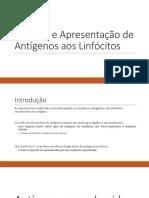 Aula 5 - Captura e Apresentação de Antígenos aos Linfócitos.pdf