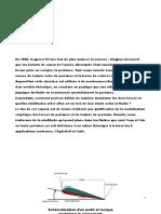Etude Theorique Aile Et Foils Avec Mecaflux Standard Et Heliciel