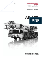 Documentation TEREX AC 140