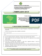 I-simulado-mat e Lip-4º Ano- Ef-2014 (1)