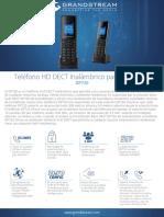 Datasheet Dp720 Spanish