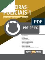 AEP Apostila Digital Apostila Digital Carreiras Policiais Prf Pf Pc Volume 1