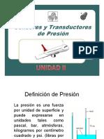 Sensores y Traductores de presión