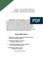 Soda Caustica - Hidroxidul de Sodiu