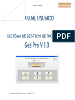 Manual Usuario GesPro