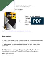 Guide d'Installation Machine Virtuelle