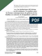 Grimberg Julieta Los Suárez y las instituciones del sistema de protección de la infancia