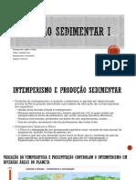 Produção Sedimentar X Tectonismo 1 _2_3